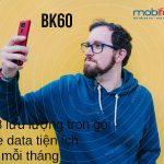 Hướng dẫn đăng ký gói BK60 mạng Mobifone có 6GB trọn gói free data tiện ích