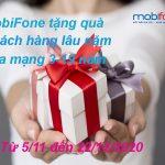 MOBIFONE TẶNG QUÀ CHO KHÁCH HÀNG LÂU NĂM HÒA MẠNG 3-19 NĂM